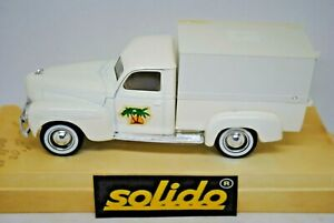 Solido 4421 Age d'or 1:43 MINT DODGE BACHE Pick-up Truck Vehicle in DISPLAY BOX