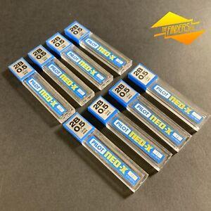 LOT X8 VINTAGE PILOT NEO-X 2B 0.5mm CLUTCH PENCIL SPARE LEAD REFILLS JAPAN