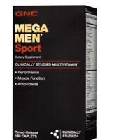 GNC MEGA MEN SPORT Dietary Supplement 180 cap FREE ASAP SHIPPING!