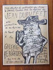 Jean Dubuffet, Galerie Berggruen, 1960