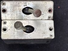 TWO (2) ANTIQUE SQUARE D TOGGLE SWITCHES