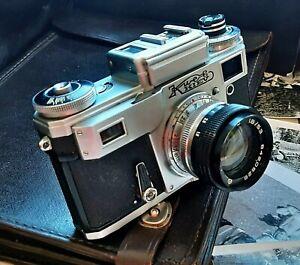 Kiev 4 Film Camera 35 mm Analog vintage rangefinder USSR cameras tested Contax