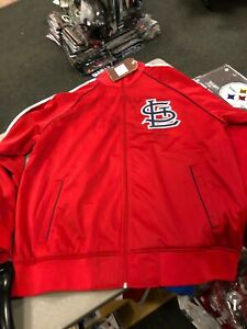 SAINT LOUIS CARDINALS Mitchell and Ness NFL Preseason Warm Up Track Jacket