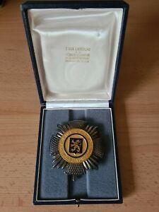 Ehrenzeichen Verdienstorden Belgien Brabant Großoffizier im Etui