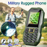 Rugged Phone Dual SIM 32MB+32MB bluetooth Torch Long Stand-by Big Speaker