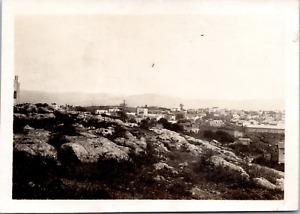 Liban, Beyrouth, la montagne de neige Vintage silver print  Tirage argentique