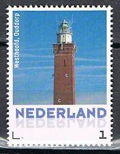 Persoonlijke Postzegel 3013 Vuurtoren Westhoofd, Ouddorp  - Lighthouse