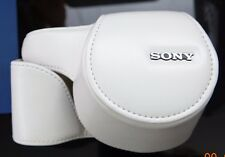 Sony LCSELC5/W Exclusive Case for NEX-5R - White, (White)
