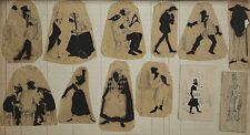 JACOTOT XIX 12 Dibujos Antiguos alumnos del Triboulet,Pela lo - mezclas,