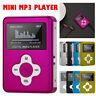 USB2.0/1.1 Mini MP3 Music Player LCD Screen Support 32GB Micro SD TF Card Metal