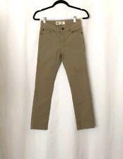 Boys Levi's 510 Skinny Tan Jeans Pants Size 12R