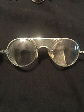 Bausch & Lomb 22/44 Welding Metal Safety Goggle Eyeglasses Used