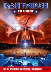 Iron Maiden  En Vivo!  Limited Steelbook DVD