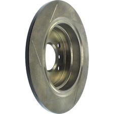 Disc Brake Rotor-Sport Slotted Brake Disc Rear Left Stoptech 126.34025SL