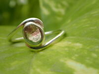 Natural Watermelon Tourmaline Ring Handmade 925 Sterling Silver Ring size 8 US