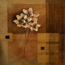 VERBEEK & Van ELEGANTE Flowers II Imagen TERMINADA 70x70 mural
