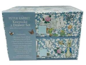 Peter Rabbit Keepsake 2 Drawer Set