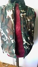 Sportrax Quilted Vest Camouflage  Boys Large 14 / 16