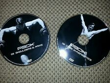 2 - P90X DVDs #3 Shoulders and Arms AND #8 Core Synergistics FREE SHIPPING!!