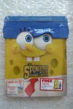 Blu-ray SPONGEBOB MOVIE SPONGE OUT WATER TARGET Invicibubble Pack New & Sealed