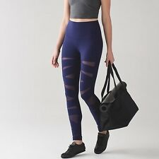Lululemon Wunder Under Pant HR* Tech Mesh. HOBE. Size 12