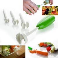 4 pcs Vegetable Cutter Spiralizer Kitchen Portable Digging Device Drill Set