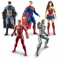 """DC JUSTICE LEAGUE 6"""" ACTION FIGURE CHARACTERS FULLY POSABLE COLLECTIBLE KIDS TOY"""