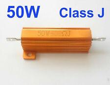 US Stock 5Pcs 50W Watt 30 Ω ohm 30RJ Power Metal Shell Wire wound Resistor