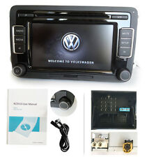 Autoradio VW CD MP3 RCD510+USB Golf GTI Passat Tiguan Touran Caddy CC EOS IA1