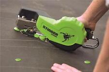 Hand Plastic Cap Autofeed Hammer Stapler. Fasten roof felt and housewrap.