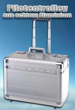 Aluminium Pilotentrolley Koffer Trolly Trolley Alu Aktenkoffer Pilotenkoffer 608