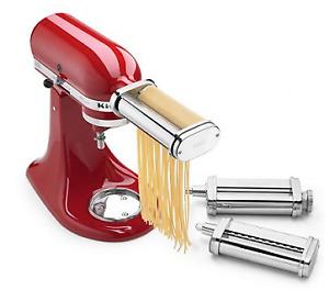 KitchenAid Pasta Roller & Fettuccini/Spaghetti Cutter Attachments
