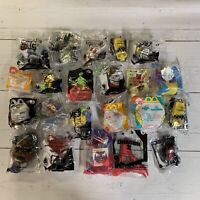 Lot of 22 NEW Sealed McDonalds HAPPY MEAL Toys Minions Snoopy Hot Wheels + More