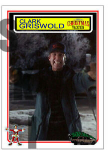 2019 STCC Clark Griswold Christmas Vacation Chevy Chase Trading Card