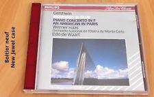 Gershwin - Rhapsodie in Blue - Wart - Philips - Boitier neuf - CD Philips