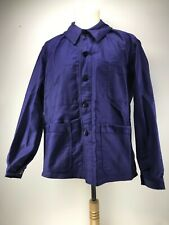 Ancienne Veste de bleu de travail indigo,usine paysan déguisement   état neuf