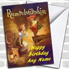 Rumpelstiltskin Birthday Customised Card