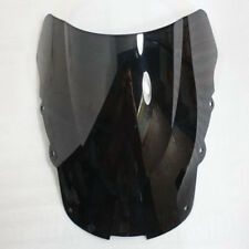 ABS Smoked Black Racing Windscreen Windshield For Honda CBR1100XX 1996-2007