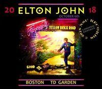 ELTON JOHN LIVE FAREWELL TOUR IN BOSTON 2018 OCTOBER 6th LTD 3 CD