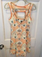 New Free People Sweet Linen Cotton Beaded Dress 4