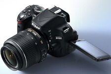Nikon D D5100 16.2MP Digital SLR Camera + 18-55mm Lens + EXTRAS