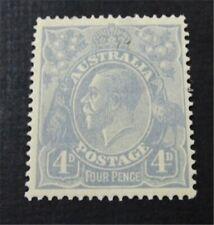 nystamps British Australia Stamp # 33 Mint OG H $68