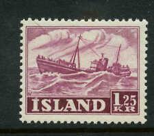 Iceland  Scott #265 Facit #303 Mint  Cats $25