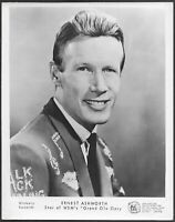 ~ Ernest Ashworth Original 1960s Promo Photo Country Music Grand Ole Opry
