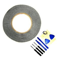 2mm Black for 3M Sticker Double Sided Tape Adhesive Cell Phone Repair with Tools