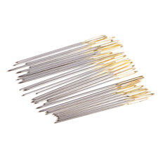 60Pcs Hand sewing needles Easy Threading Embroidery Cross Stitching Button
