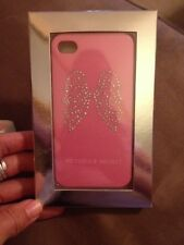 NWT Victoria's Secret Pink Bling Angel Wings iPhone 4/4S Case
