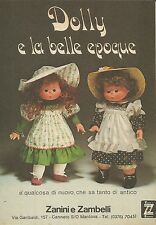 X9787 Dolly e la belle epoque - Zanini e Zambelli - Pubblicità 1975 - Advertis.