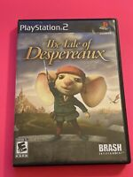 🔥 SONY PS2 PlayStation Two 💯 COMPLETE WORKING GAME 🔥The Tale Of Despereaux
