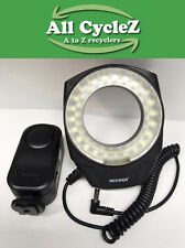 Neewer Macro LED Ring Flash Light Working Condition